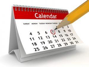 2015 Financial Planning Calendar